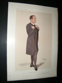 Vanity Fair Print 1906 Bishop of Stepney, Clergy
